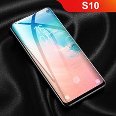 Samsung Galaxy S10 5G用高光沢 液晶保護フィルム フルカバレッジ画面 F03 サムスン クリア