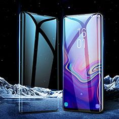 Samsung Galaxy S10 5G用強化ガラス フル液晶保護フィルム サムスン ブラック