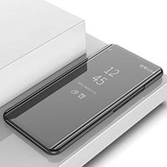 Samsung Galaxy S10用手帳型 レザーケース スタンド カバー 鏡面 カバー L02 サムスン ブラック