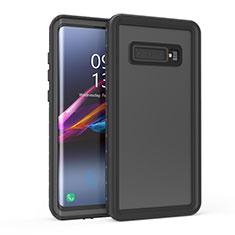 Samsung Galaxy S10用完全防水ケース ハイブリットバンパーカバー 高級感 手触り良い 360度 サムスン ブラック