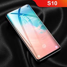 Samsung Galaxy S10用高光沢 液晶保護フィルム フルカバレッジ画面 F03 サムスン クリア