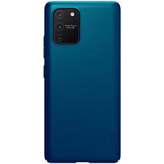 Samsung Galaxy S10 Lite用ハードケース プラスチック 質感もマット カバー M01 サムスン ネイビー