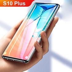 Samsung Galaxy S10 Plus用高光沢 液晶保護フィルム フルカバレッジ画面 F05 サムスン クリア