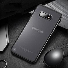 Samsung Galaxy S10e用ハイブリットバンパーケース プラスチック 兼シリコーン カバー R01 サムスン ブラック