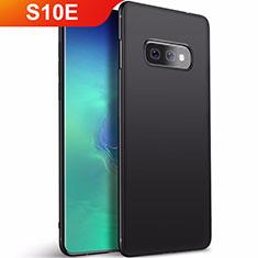 Samsung Galaxy S10e用極薄ソフトケース シリコンケース 耐衝撃 全面保護 S01 サムスン ブラック