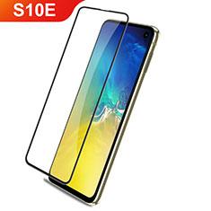 Samsung Galaxy S10e用強化ガラス フル液晶保護フィルム F03 サムスン ブラック