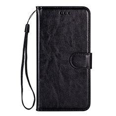 Samsung Galaxy S20 5G用手帳型 レザーケース スタンド カバー L05 サムスン ブラック