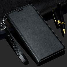 Samsung Galaxy S20 5G用手帳型 レザーケース スタンド カバー T02 サムスン ブラック