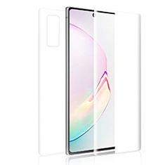 Samsung Galaxy S20 5G用高光沢 液晶保護フィルム 背面保護フィルム同梱 サムスン クリア