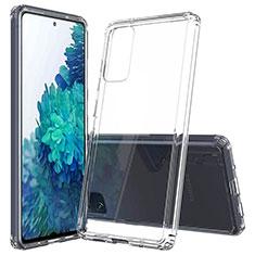 Samsung Galaxy S20 FE 5G用極薄ソフトケース シリコンケース 耐衝撃 全面保護 クリア透明 カバー サムスン クリア