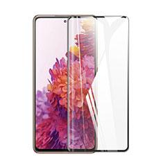 Samsung Galaxy S20 FE 5G用強化ガラス フル液晶保護フィルム F02 サムスン ブラック