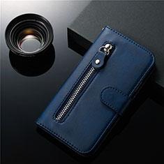 Samsung Galaxy S20 Plus 5G用手帳型 レザーケース スタンド カバー L01 サムスン ネイビー