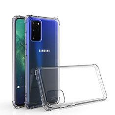Samsung Galaxy S20 Plus 5G用極薄ソフトケース シリコンケース 耐衝撃 全面保護 クリア透明 カバー サムスン クリア