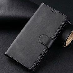 Samsung Galaxy S20 Plus 5G用手帳型 レザーケース スタンド カバー T02 サムスン ブラック