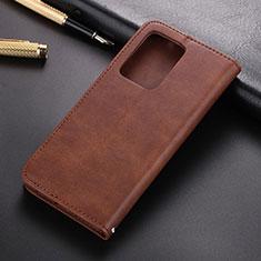 Samsung Galaxy S20 Plus 5G用手帳型 レザーケース スタンド カバー T03 サムスン ブラウン
