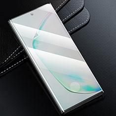 Samsung Galaxy S20 Plus 5G用強化ガラス フル液晶保護フィルム F02 サムスン ブラック