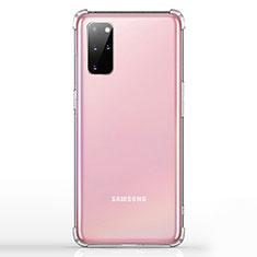 Samsung Galaxy S20 Plus用極薄ソフトケース シリコンケース 耐衝撃 全面保護 クリア透明 K02 サムスン クリア