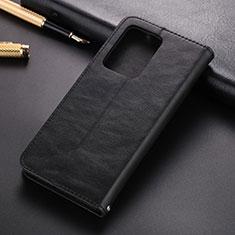Samsung Galaxy S20 Ultra 5G用手帳型 レザーケース スタンド カバー T01 サムスン ブラック
