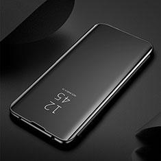 Samsung Galaxy S20 Ultra 5G用手帳型 レザーケース スタンド 鏡面 カバー M03 サムスン ブラック