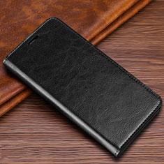 Samsung Galaxy S20 Ultra 5G用手帳型 レザーケース スタンド カバー T04 サムスン ブラック
