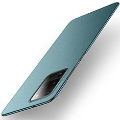 Samsung Galaxy S20 Ultra 5G用ハードケース プラスチック 質感もマット カバー P01 サムスン グリーン
