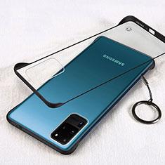 Samsung Galaxy S20 Ultra用ハードカバー クリスタル クリア透明 S03 サムスン ブラック