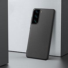 Samsung Galaxy S21 5G用ハードケース プラスチック 質感もマット カバー M04 サムスン ブラック