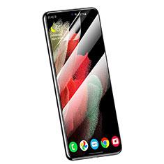 Samsung Galaxy S21 5G用高光沢 液晶保護フィルム フルカバレッジ画面 F01 サムスン クリア