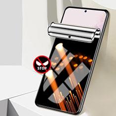 Samsung Galaxy S21 5G用高光沢 液晶保護フィルム フルカバレッジ画面 反スパイ A01 サムスン クリア
