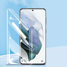 Samsung Galaxy S21 5G用高光沢 液晶保護フィルム フルカバレッジ画面 F03 サムスン クリア