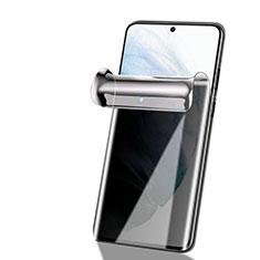 Samsung Galaxy S21 5G用高光沢 液晶保護フィルム フルカバレッジ画面 反スパイ サムスン クリア