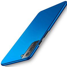 Samsung Galaxy S21 Plus 5G用ハードケース プラスチック 質感もマット カバー M02 サムスン ネイビー