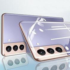 Samsung Galaxy S21 Plus 5G用強化ガラス 背面保護フィルム B01 サムスン クリア