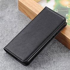 Samsung Galaxy S21 Ultra 5G用手帳型 レザーケース スタンド カバー L04 サムスン ブラック