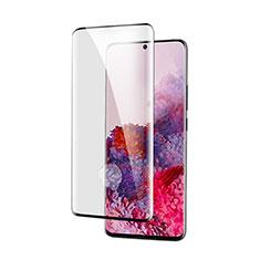Samsung Galaxy S21 Ultra 5G用強化ガラス フル液晶保護フィルム サムスン ブラック