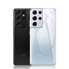 Samsung Galaxy S21 Ultra 5G用背面保護フィルム 背面フィルム サムスン クリア