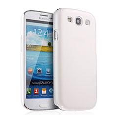 Samsung Galaxy S3 III LTE 4G用ハードケース プラスチック 質感もマット サムスン ホワイト