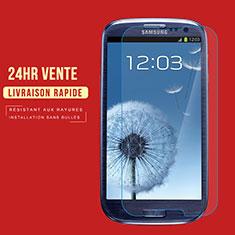 Samsung Galaxy S3 III LTE 4G用強化ガラス 液晶保護フィルム T02 サムスン クリア