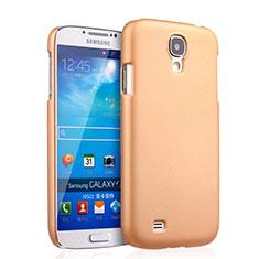 Samsung Galaxy S4 i9500 i9505用ハードケース プラスチック 質感もマット サムスン ゴールド