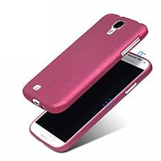 Samsung Galaxy S4 i9500 i9505用極薄ソフトケース シリコンケース 耐衝撃 全面保護 サムスン パープル