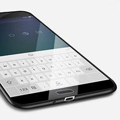 Samsung Galaxy S4 i9500 i9505用極薄ソフトケース シリコンケース 耐衝撃 全面保護 サムスン ブラック