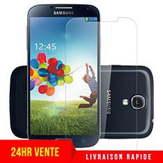 Samsung Galaxy S4 IV Advance i9500用強化ガラス 液晶保護フィルム T04 サムスン クリア