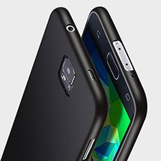 Samsung Galaxy S5 Duos Plus用極薄ソフトケース シリコンケース 耐衝撃 全面保護 サムスン ブラック