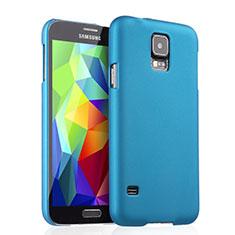 Samsung Galaxy S5 G900F G903F用ハードケース プラスチック 質感もマット サムスン ブルー