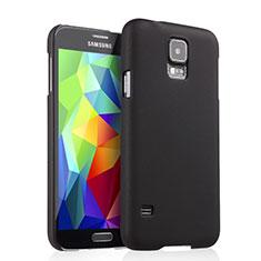 Samsung Galaxy S5 G900F G903F用ハードケース プラスチック 質感もマット サムスン ブラック