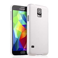 Samsung Galaxy S5 G900F G903F用ハードケース プラスチック 質感もマット サムスン ホワイト