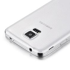Samsung Galaxy S5 G900F G903F用極薄ソフトケース シリコンケース 耐衝撃 全面保護 クリア透明 サムスン クリア
