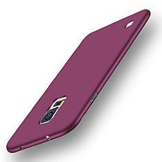 Samsung Galaxy S5 G900F G903F用極薄ソフトケース シリコンケース 耐衝撃 全面保護 S01 サムスン パープル