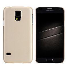 Samsung Galaxy S5 G900F G903F用ハードケース プラスチック 質感もマット M02 サムスン ゴールド