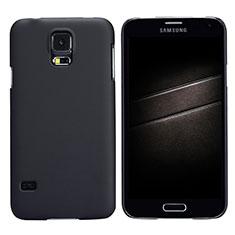 Samsung Galaxy S5 G900F G903F用ハードケース プラスチック 質感もマット M02 サムスン ブラック